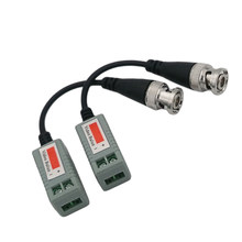 New arrival Passive Twisted Pair Transmitter Video Transceiver 202P Including Line(China)