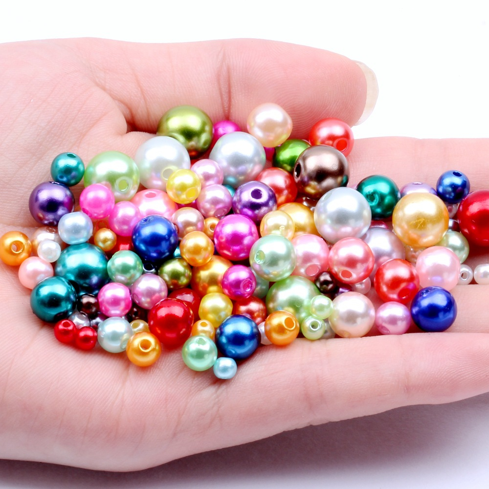 20pcs Rhinestone Crystal Bead Jewelry Round Straight Silver Plated 5//6//8//10//12mm