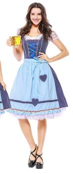 Dirndl dress Bavaria Oktoberfest Lady dress