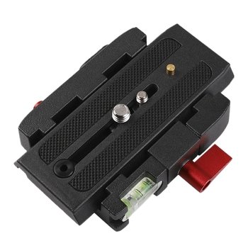 lanbeika camera tripod aluminum quick release plate assembly p200 clamp adapter for manfrotto 577 501 500ah 701hdv q5 Quick Release Plate Assembly P200 Clamp Adapter for Manfrotto 577 501 500AH 701HDV Q5 Camera Tripod Accessories