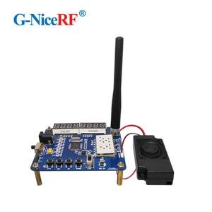 Image 5 - Free Shipping   LCD Display Testing Demo Board/Development Board For SA818 VHF Walkie Talkie Module