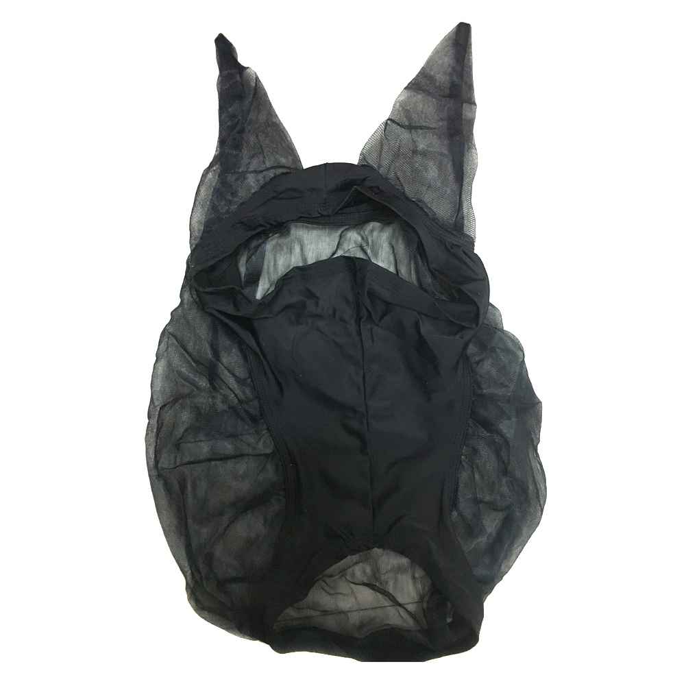 Hot Horse Quiet Ride Anti Fly Mask With Ears Accessories For Mule Donkey MVI-ing