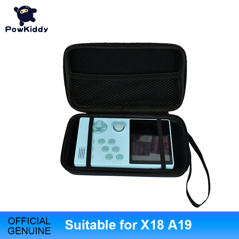 Powkiddy For X18  A19  Portable Handheld Retro Game Bag For Retro Game Console RetroID Game Device Multi Function Game Pack