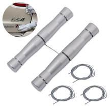 EHDIS سطح السيارة شعار مزيل ملصق معدني هوائي شعار إزالة سكين PE سلك سيارة التصميم تنظيف أداة السيارات التفاف