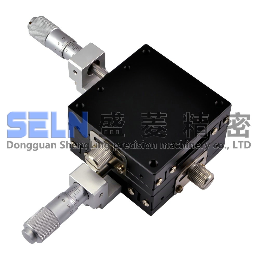 Präzision Mess Manuelle Verschiebung Plattform von XY Achse Slider LGY60 C Stahl Bar Ball Anleitung Typ Micro anpassung Rahmen