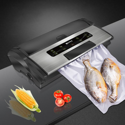 220V Household Food Vacuum Sealer Automatic Packaging Machine Commercial Fresh Sealing Machine Food Saver Vacuum Packer FW-3150S