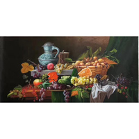KOWELL 100%Handpainted Realistic Classic Fruit Oil Painting On Canvas Art Gift Home Decor Living Room Wall Art Frameless Picture