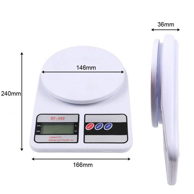 SF400 кухонные весы, цифровые пищевые весы, высокоточные кухонные электронные весы, 10 кг-3