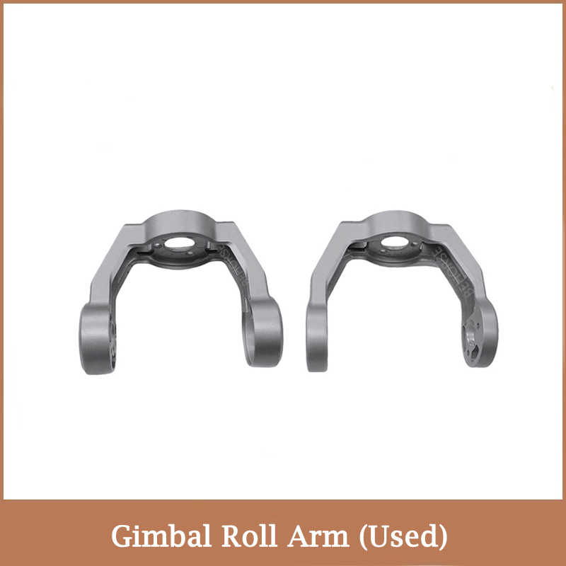 Drone Accessories Repair Parts Roll Arm Mount Holder Gimbal Camera Roll Arm for DJI Mavic 2 Zoom