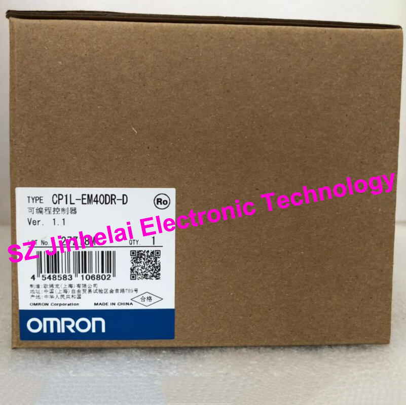 New and original CP1L-EM40DR-D OMRON Programmable controller