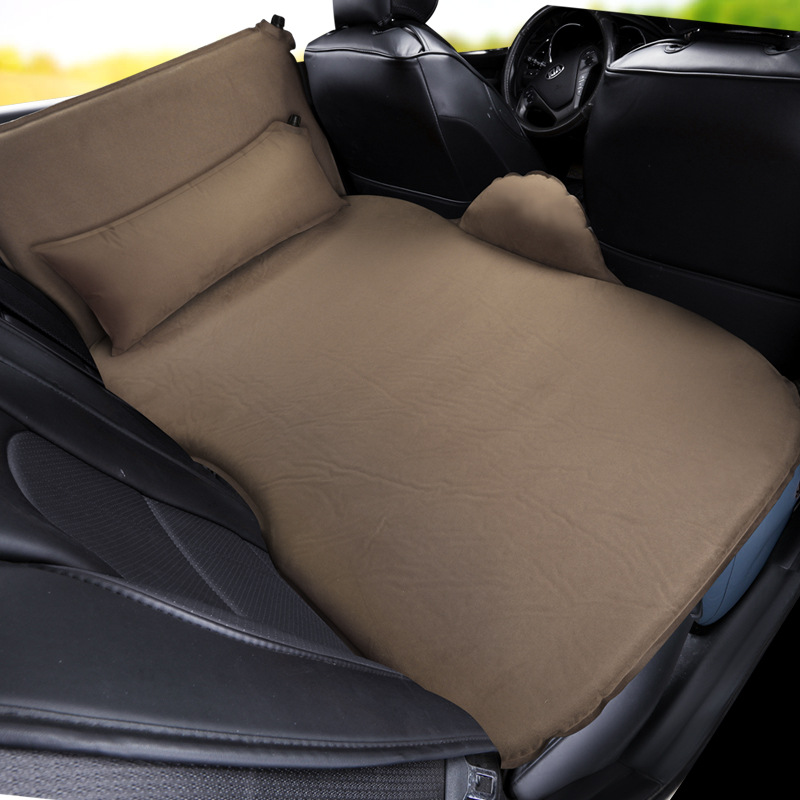 Car Travel Bed air mattress Inflatable Bed Automobile Rear Row camping Sleeping Floatation sofa SUV Automatic Air Matting Pad