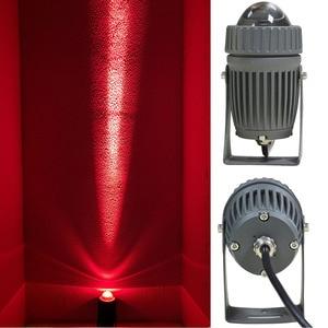 Image 4 - Professionelle Optische Design Outdoor Led Flutlicht 10W Led Spot Licht mit Schmalen lampe Winkel Flutlicht mit 100 240V Beleuchtung