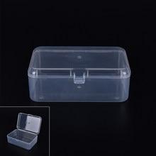Kleine Kunststoff Transparent Mit Deckel Sammlung Container Fall Lagerung Box
