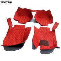 Car floor mats for Audi A1 A3 A4 A6 A7 A8 Q3 Q5 Q7 TT 5D car styling heavy duty all weather carpet floor liner
