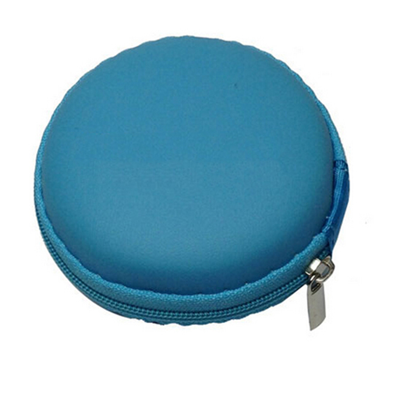 New Portable Hard Case Pouch Storage Bag for Headphone Earphone Earbuds SD Card