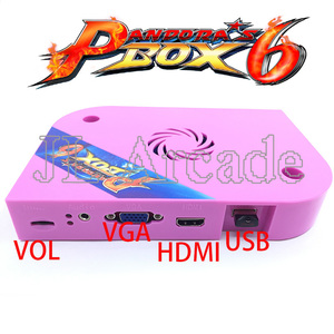 Image 5 - باندورا بوكس 6 1300 جاما مجلس PCB ل ماكينة صالة الألعاب دعم CRT CGA HDMI يمكن تحميل FBA MAME PS1 لعبة ثلاثية الأبعاد وحدة التحكم