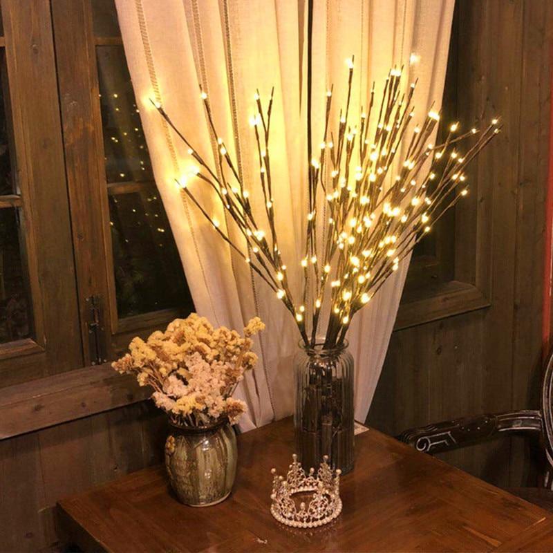 20 Light Tree Branch Light String Christmas Decorations for Home Christmas Tree Decorations New Year Decorations Natal Natale