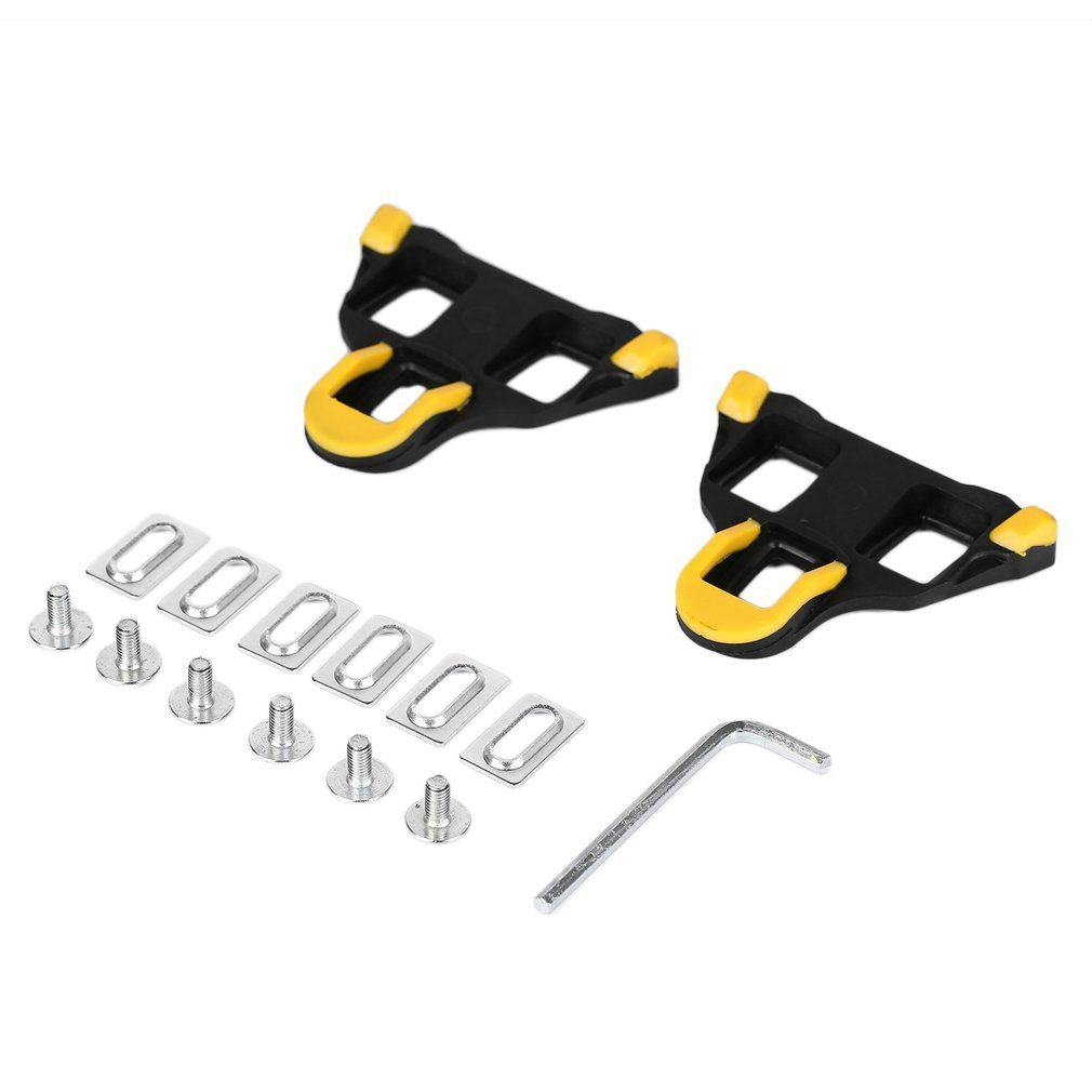 Professional Road Bike Cleats Self-locking Cycling Pedal Bike Bicycle Cleat For Shimano SM-SH11 SPD-L Bicycle Pedal