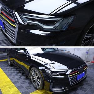 Lsrtw2017 Прозрачная Черная защитная пленка для автомобильных фар из ТПУ, стикер для Audi Q7 q8 2020 2019 2018 2017 2016 против царапин