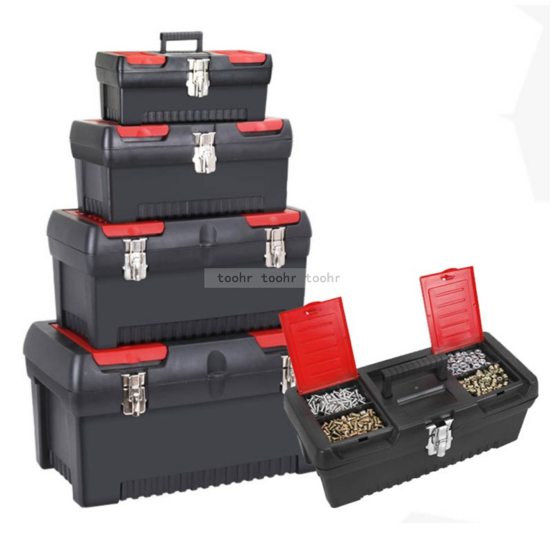 Tool Box Household Large Hardware Electrician Box Multifunctional Maintenance Portable Tool Storage Box Car Case