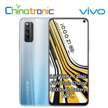 Original vivo iqoo z1 6gb 128gb 5g dimensão do telefone móvel 1000 mais 6.57