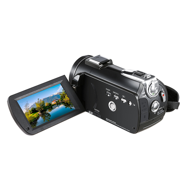 3.1inch Screen Digital Camera Professional Night-vision Recording Used As PC Cam Camcorder Ultra HD 4K Video Camera Anti-shake 5