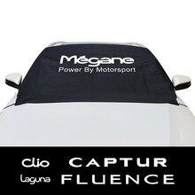 Für Renault Clio Megane Captur Fluence Kadjar Koleos Laguna Scenic Zoe Auto Windschutzscheibe Schnee Eis Block Deckt Auto Zubehör
