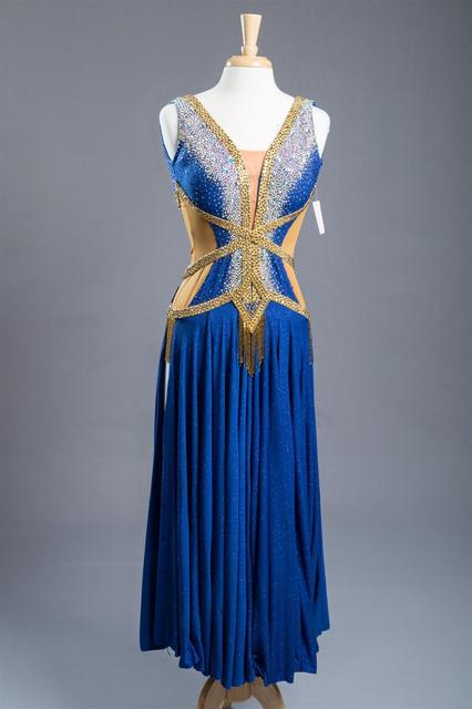 Advanced Ballroom Competition Dance Dress New Design Elegant Standard Modern Dancing Skirt Women Waltz Ballroom Dance Dresses