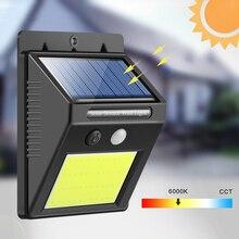 Перезаряжаемый Солнечный свет 48 светодиодный водонепроницаемый PIR датчик движения безопасности настенный светильник Открытый запасной Солнечный настенный светильник