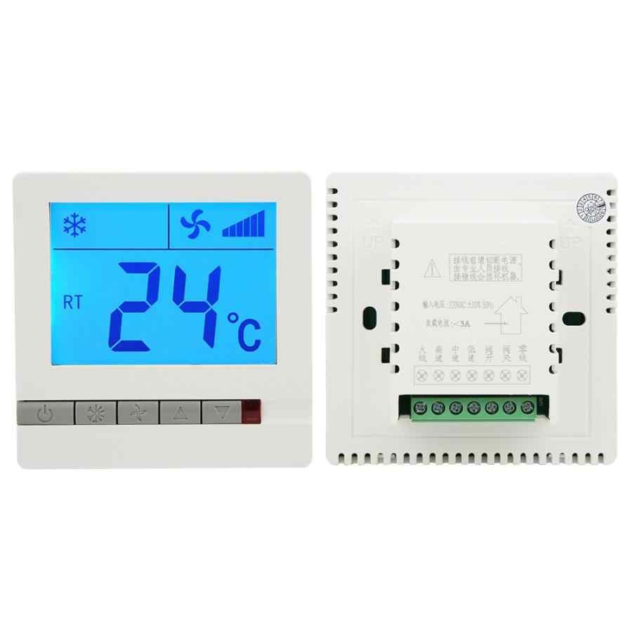 905f ntc termometro lcd digital termostato atraso compressor de proteção unidade bobina ventilador controlador temperatura estação meteo