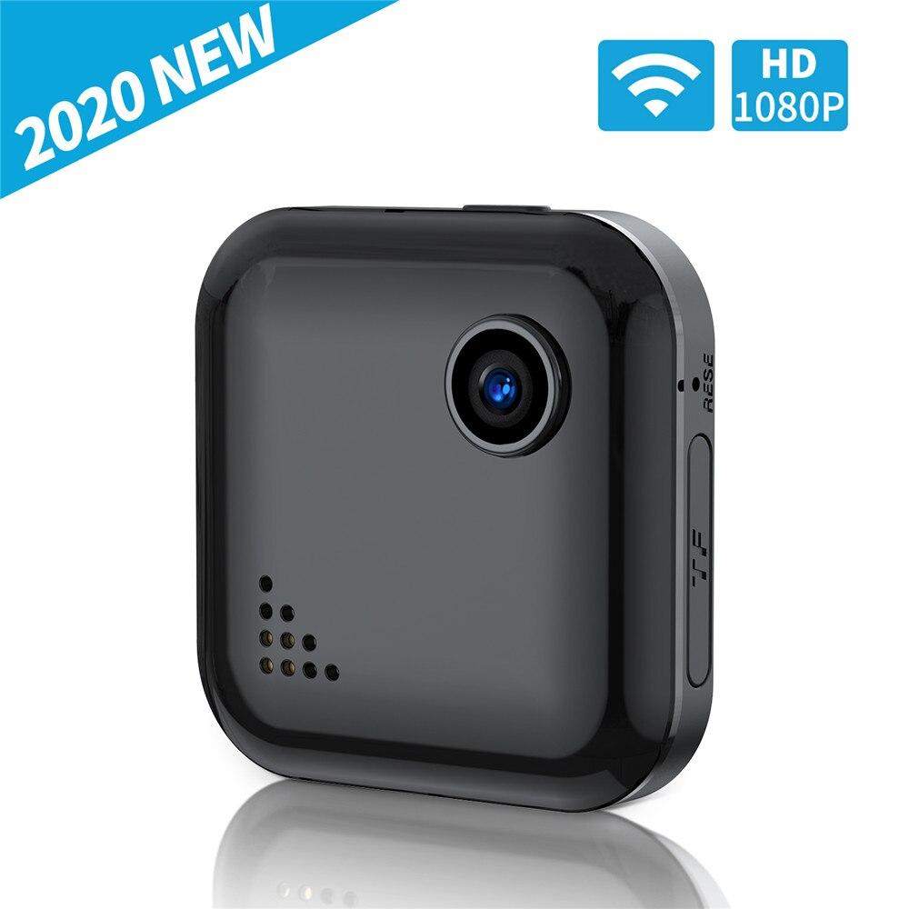 Мини-камера QZT, Wi-Fi датчик движения, ночное видение, беспроводная мини-камера Wi-Fi, маленькая карманная секретная камера, видеокамера 1080P, микр...