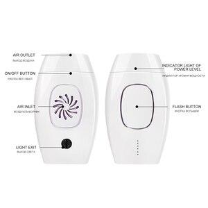 Image 5 - 900000 Flash Permanent IPL Epilator Laser Hair Removal dropshipping  facial Electric photoepilator Painless Hair Remover