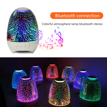 Bluetooth Speaker Sound Audio Phone Mini Subwoofer Support TF Card U Disk AUX TWS Couplet Stereo Colorful Ambient Light