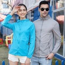 Women Thin Sunscreen Jacket Spring Autumn Large Size 5XL Male Overalls Summer sun-proof Windbreaker Clothing