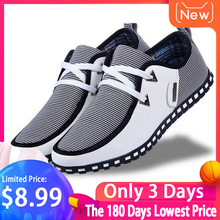 Summer Loafers Men Casual Shoes Fashion Slip On Sneakers Men Flats Driving Shoes PLUS SIZE 39-47 Trainers Zapatos Leather Shoes цена