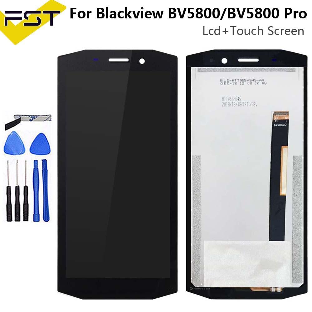 5.5 pouces LCD pour Blackview BV5800/BV5800 Pro écran LCD + écran tactile 100% testé écran numériseur assemblée remplacement + outils