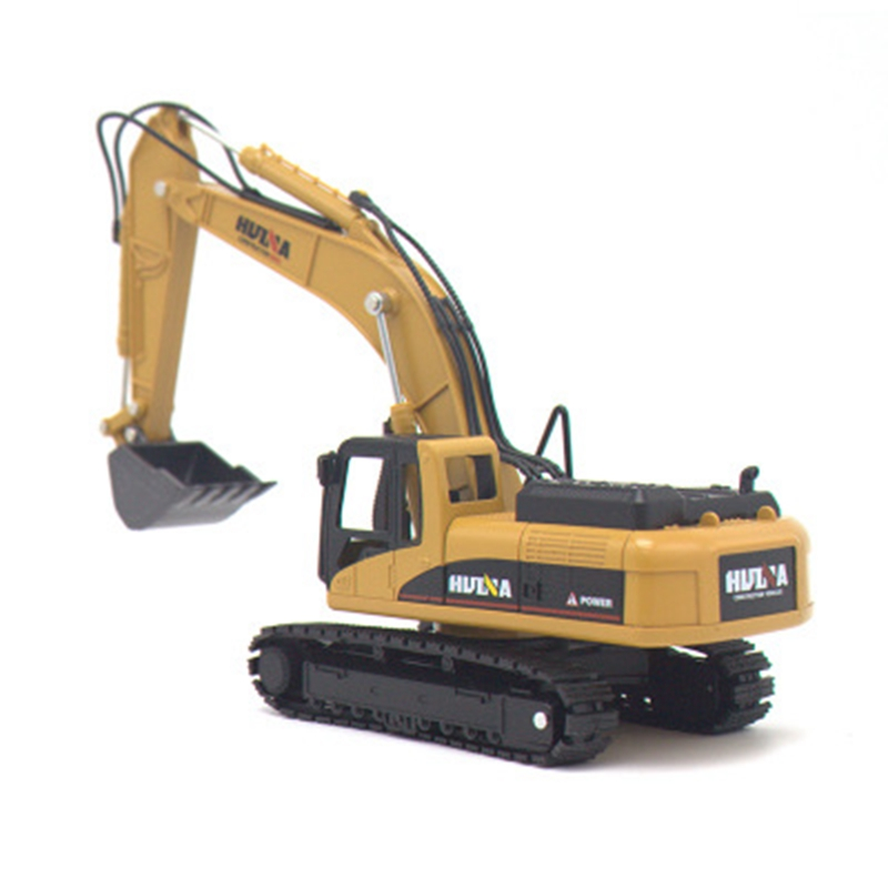 1:50 Engineer <font><b>Model</b></font> Dump Truck Excavator <font><b>Wheel</b></font> Loader Diecast Metal <font><b>Model</b></font> Construction Vehicle Toys For Boys Birthday Gift <font><b>Car</b></font> image