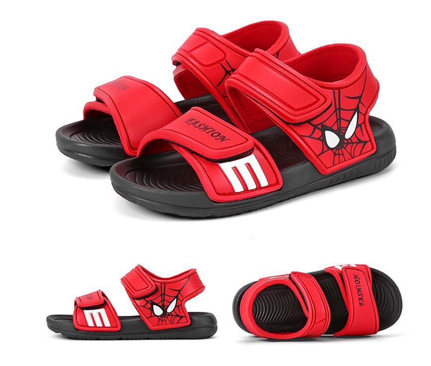Girls Soft-Leather Summer Sandals