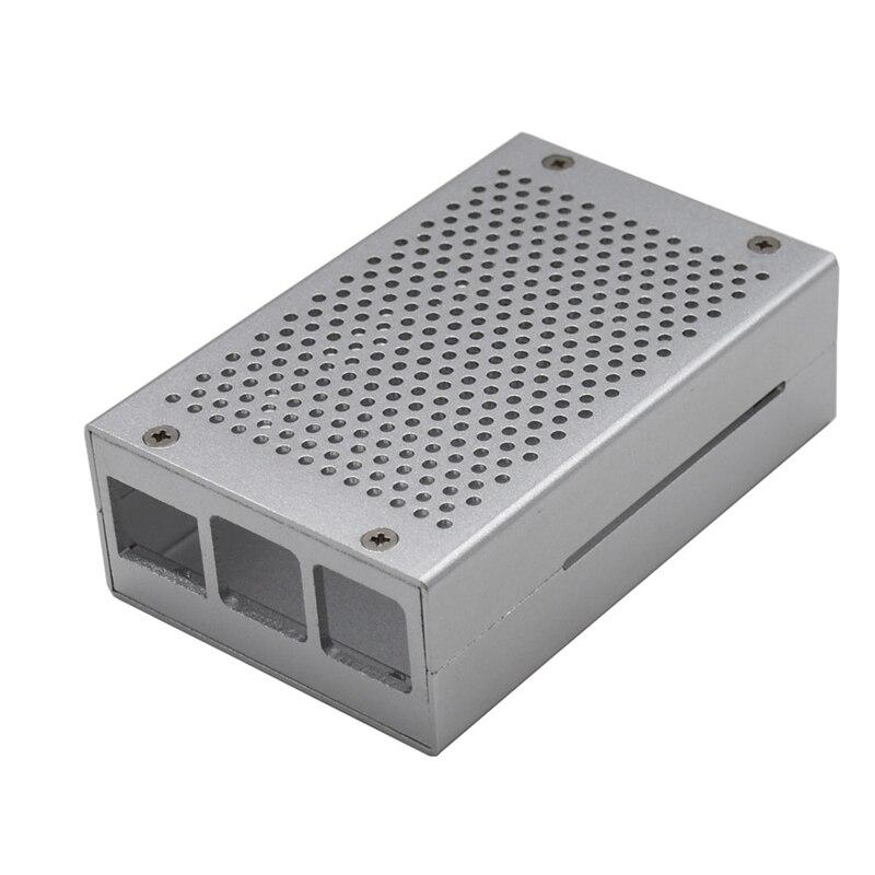 For Raspberry Pi 4 Model Metal Case Aluminum Alloy Box Shell Compatible For Raspberry Pi 4