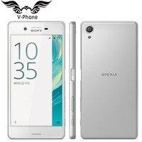 Original 5 inch New Sony Xperia X F5121 3GB 32GB Mobile Phone 4G LTE Snapdragon 650 23MP 13MP NFC 2620mAh Global Smartphone