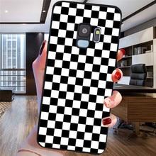 2020 fashion Plaid Checked For Samsung Galaxy S6 S7 Edge S8 S9 S10 Plus Lite Note 8 9 10 A30 A40 A50 A60 A70 M10 M20 phone Case lavaza counter strike cs and pubg silicone case for samsung s6 edge s7 s8 plus s9 s10 s10e note 8 9 10 m10 m20 m30 m40