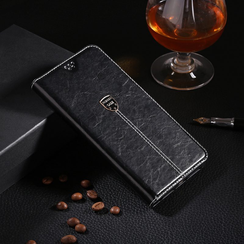 Leather Phone Case For Samsung Galaxy A3 A5 A7 2016 J3 J5 J7 Neo 2017 J5 J7 J2 Prime A8 A6 2018 S9 S10 Plus Flip Wallet Cover image