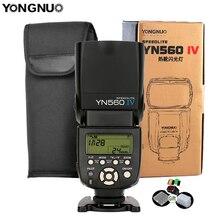 Yongnuo Radio inalámbrica YN560IV Speedlite 2,4G, Flash esclavo maestro, YN560 IV, para cámara DSLR, Canon, Nikon, Sony, Pentax, Olympus, Fuji