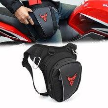 Sac banane imperméable pour moto, sacoche pour téléphone portable ou militaire, ceinture de cuisse, tour de hanches, voyage tactique
