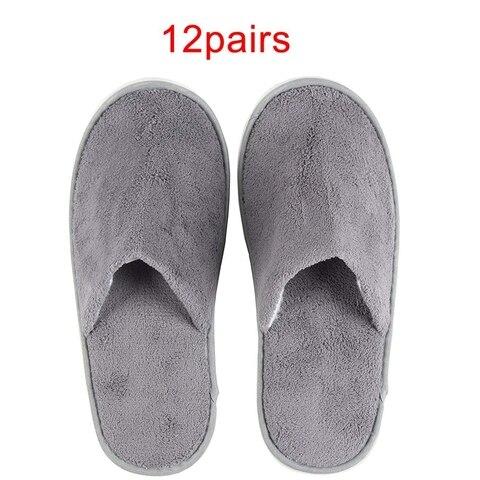 12 pairs chinelos descartaveis otimo para hotel spa