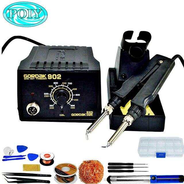 GORDAK 902 ESD SMD pince à souder, Station de réparation, pinces à chaleur électrique à température constante, 220V