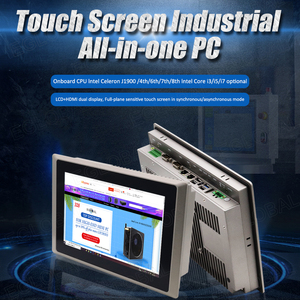 Eglobal 10.1 Inch Industrial all In One Touch Panel Pc Celeron J1900 / Core i5 4200U / I7 4500U Intel Gaming Pc Desktop Computer