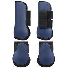 Bottes réglables en néoprène pour pattes de cheval, protection avant et arrière, équipement d'équitation