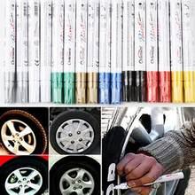 Desenho permanente pneu de carro de borracha de metal tinta highlighter design universal à prova dwaterproof água permanente caneta marcador