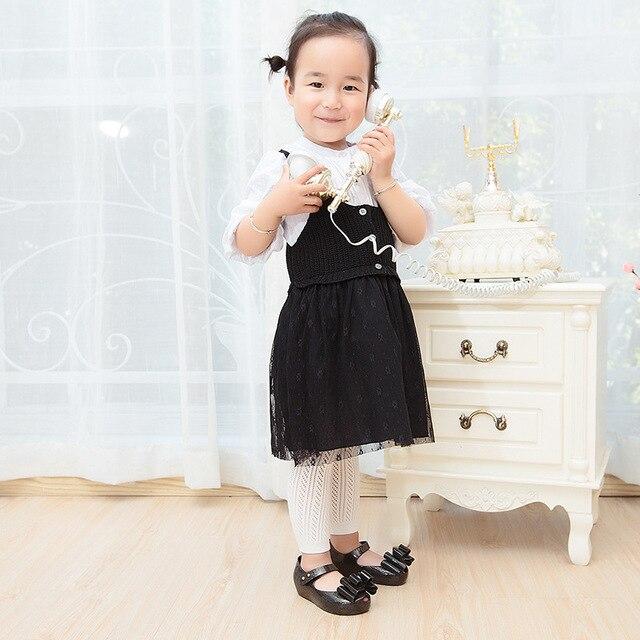 Summer autumn Thin Baby Girls Tights Infant Girl Toddler Newborn Kids Pantyhose Lace Hosiery Kids Stockings 4